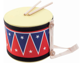 Plantoys Houten Muziekinstrument Trommel Big Drum II