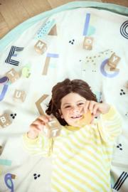 Play and Go Speelgoedkleed en Opbergzak - Animal Alphabet (dubbelzijdig)
