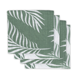 Jollein Hydrofiele Doek Small Nature - Ash Green (set van 4)