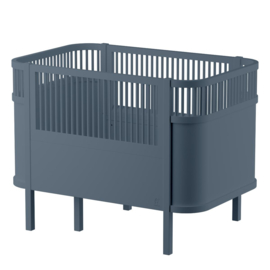 Sebra Kili Baby en Junior Bed - Forest Lake Blue
