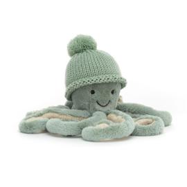 Jellycat Cozi Odyssey Octopus - Knuffel Octopus (23 cm)