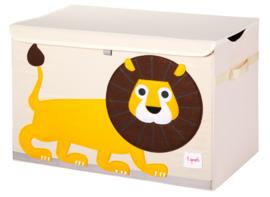 3 Sprouts Speelgoedkist - Leeuw