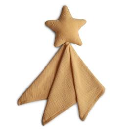 Mushie Knuffeldoek Lovely Star - Ster Fall Yellow