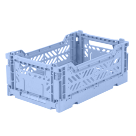 AyKasa Folding Crate Mini Box - Babyblue