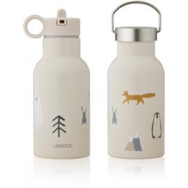 Liewood Anker Waterbottle Drinkfles - Arctic Mix (350ml)