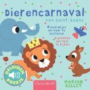 Uitgeverij Clavis Geluidenboekje - Dierencarnaval +1jr