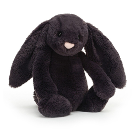 Jellycat Bashful Knuffel Konijn - Inky Bunny Medium (31 cm)