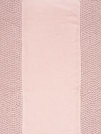 Jollein Aankleedkussenhoes River Knit - Pale Pink