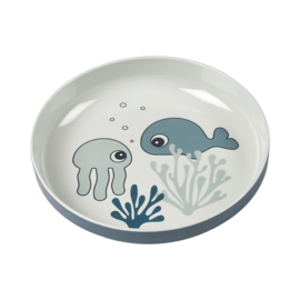 Done by Deer Mini Bord Sea Friends - Blauw