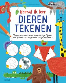 Uitgeverij Deltas Hoera! ik leer Dieren Tekenen