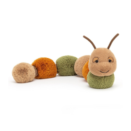 Jellycat Knuffel Rups - Figgy Caterpillar (60 cm)