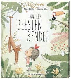 Uitgeverij De Vier Windstreken Wat een Beestenbende! - Susanna Isern