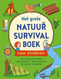Uitgeverij Deltas Het Grote Natuur Survival Boek voor Kinderen