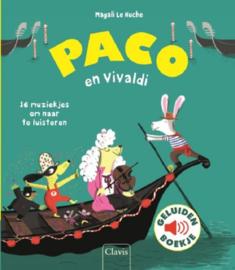 Uitgeverij Clavis Paco en Vivaldi - Geluidenboekje +3jr