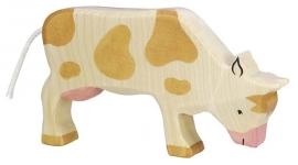 Holztiger Koe (bruin) - Grazend (80009)