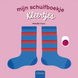 Uitgeverij Clavis Schuifboekje - Kleertjes +1jr