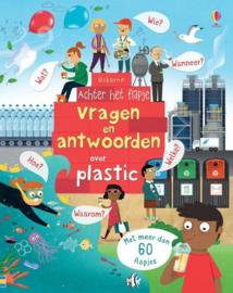 Uitgeverij Usborne Vragen en Antwoorden over Plastic +4jr