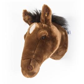 Wild and Soft Dierenkop - Paard (bruin)