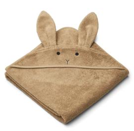 Liewood Badcape Albert Konijn - Rabbit Oat