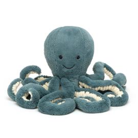 Jellycat Knuffel Octopus - Storm Octopus Baby (14 cm)