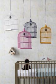 KidsDepot Hanglamp Birdy - Grijs