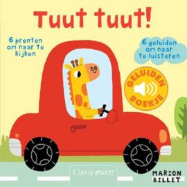 Uitgeverij Clavis Geluidenboekje - Tuut Tuut ! +1jr