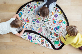 Play and Go Speelgoedkleed en opbergzak - OMY Color your Bag