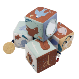 Sebra Stoffen Baby Blokken Daydream | Speelgoed | Gras