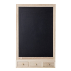 Bloomingville Krijtbord Hout Blackboard  - Nature