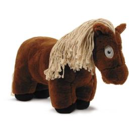 Crafty Pony Paarden Knuffel Bruin met Witte Manen (48 cm) incl. instructieboekje