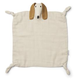 Liewood Agnete Knuffeldoek Hond - Dog Sandy