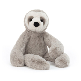 Jellycat Scrumptious Bailey Sloth Medium - Knuffel Luiaard (41 cm)