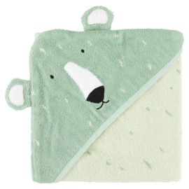 Trixie Badcape Hooded Towel Mr. Polar Bear - IJsbeer