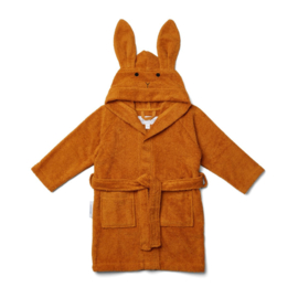 Liewood Lily Badjas Konijn - Rabbit Mustard (1 - 2 jaar)