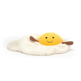 Jellycat Amuseable Fried Egg - Knuffel Spiegelei