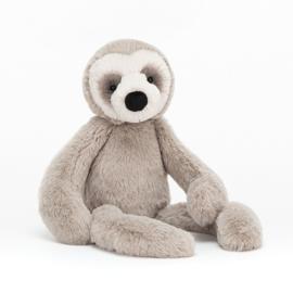 Jellycat Scrumptious Bailey Sloth Small - Knuffel Luiaard (33 cm)