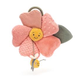 Jellycat Fleury Petunia Activity Toy - Petunia met Bij
