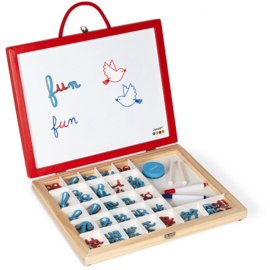 Janod Essential - 4 in 1 Letters Leren +3jr