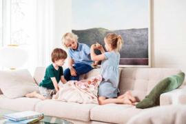 Play and Go Speelgoedkleed en opbergzak - Strepen Roze