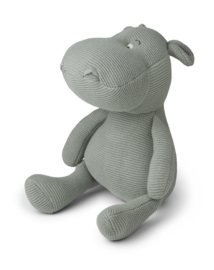 Liewood Knuffel Nijlpaard - Bo Hippo Dove Blue (27 cm)