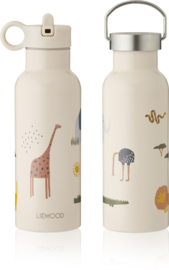 Liewood Neo Waterbottle Drinkfles - Safari Sandy Mix (500ml)
