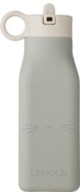 Liewood Drinkfles Warren Waterbottle - Cat Dove Blue (350 ml)