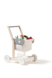 Kids Concept Houten Koelkast en Diepvries - Wit