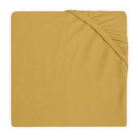 Jollein Hoeslaken Ledikant Jersey - Mustard (60 x 120 cm)