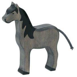 Holztiger Paard - Zwart (80361)