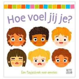 Uitgeverij Leopold Hoe voel jij je ? Flapjesboek + 2jr