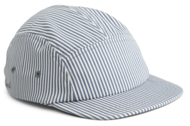Liewood Pet Rory Cap - Stripe Blue Wave Creme (5-8 jaar)