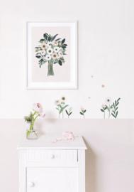 Lilipinso Wonderland Muursticker XL - Big Flowers