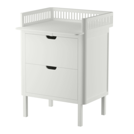 Sebra Commode met lades - Wit