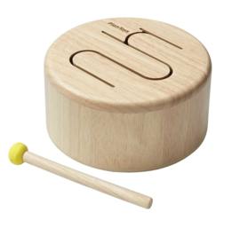Plantoys Houten Mueziekinstrument Trommel - Naturel